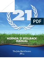 Agenda 21 Roll Back Manual