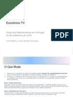 Económico TV Assembleia Geral 20100918
