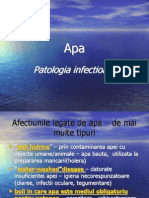 Patologie Infectioasa Apa