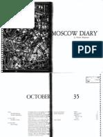 Benjamin Walter Moscow Diary No OCR