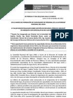 BOLETÍN DE PRENSA 054-2012