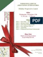 NWAR Holiday Progressive Luncheon 12.12.2012