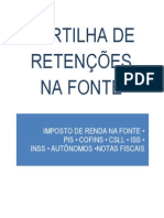 CARTILHA DE RETENÇÃO DE IMPOSTOS