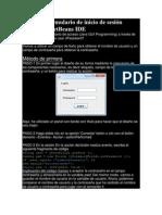 Crear un formulario de inicio de sesión utilizando NetBeans IDE