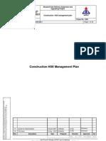 Construction HSE Management Plan Final DS PM 00 506