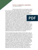 SABIDURIA INNATA Y SABIDURIA ADQUIRIDA_Rene Guénon