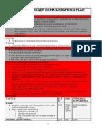 2010-2011 Budget Communication Plan.doc