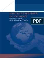 Strategia Europeana de Securitate