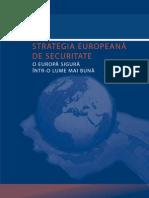 Strategia Europeana de Securitate