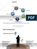 Demo Functions of Management