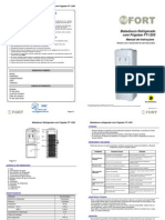 (Bebedouro Frigobar) Manual FT-1253 2.0