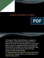 Case Control Study - 2009