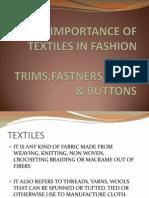 Buttons & Laces