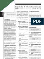 Analisis e Interpretacion de Estados Financiero de Empresa Financiera