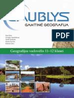GAUBLYS. Gamtine Geografija. Vadovelis 11-12 Klasei (2010)