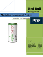 Report on Redbull Energy Drink