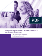 Strengthening Canada's Research Capacity