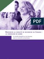 Renforcer la capacité de recherche du Canada