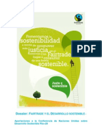 Fairtrade y Desarrollo Sostenible