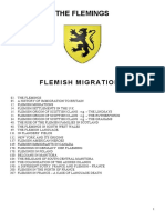 The Flemings - Flemish Migrations and Influence -2