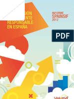 Informe Spainsif 2012