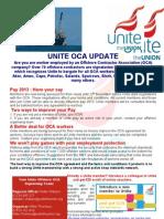 Offshore contractors flyer