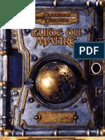 Dungeons & Dragons 3.5 - Guide Du Maitre