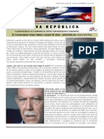 LNR 60 (Revista La Nueva Republica) Cuba CID 26 Noviembre 2012