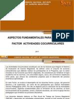 Factor Actividades Cocurriculares de Carrera Magisterial Etapa XXI