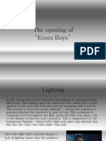 the opening of essex boys