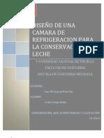 PROYECTO DE REFRIGERACIÓN
