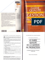 Le Guide qualité de la gestion de production