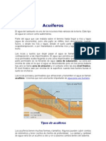 acuiferos