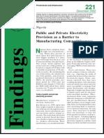Energy Report Nigeria