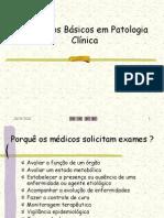 1 - Conceitos Básicos em Patologia Clínica