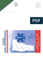 2009 Ems Conference Brochure