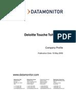 14908989 Deloitte Touche Tohmatsu - Company Profile