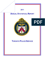 2011 TPS Annual Statistical Report