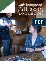 Fall 2013 Horny Toad Lookbook