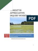Yunesitin_Appreciative Inquiry Workshop_Report_Nov 20, 2012