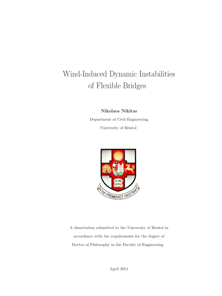 Nikitas N-wind-Induced Dynamic Instabilities of Flexible