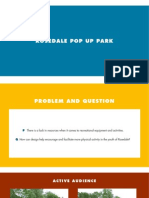 Rosedal Pop Up Park Phase 4