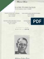 Vingt-Quatre Etudes Faciles Marcel Mule