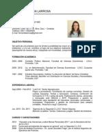 Maria Fernanda Larrosa - Curriculum Profesional