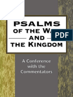 John H. Eaton-Psalms of the Way and the Kingdom a Conference With the Commentators (JSOT Supplement Series)-Sheffield Academic Press