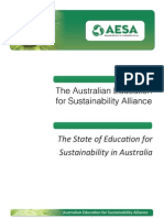 The State of Education for Sustainability in Australia report