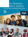 Your Federal Student Loans, learn the basics and manage your debt. help guide from  U.S. Department of Education and Federal Student Aid