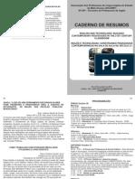 Caderno de Resumos XV EPI 2012