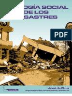 Ecología Social de los Desastres Da Cruz 1