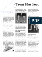 Pat Winders - How to Treat Flat Feet - Article